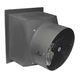 farm building fan / extraction / wall-mounted