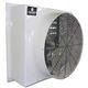 farm building fan / extraction / wall-mounted / fiberglass