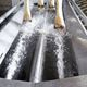 footbath for livestock buildings / stainless steel