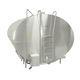 milk tank / horizontal / in-ground / stainless steel