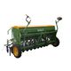 mechanical seed drill / folding / double-disc / with disc harrow