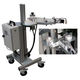 automatic labeling machine / tray / for pots