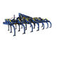 mounted field cultivator / rigid tine / 3-point hitch