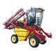 straddle tractor / hydrostatic / with cab