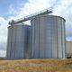 grain silo / metal / round / flat-bottom