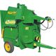 trailed straw blower / for round bales / PTO-driven