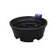 cow waterer / trough / polyethylene / multi-access