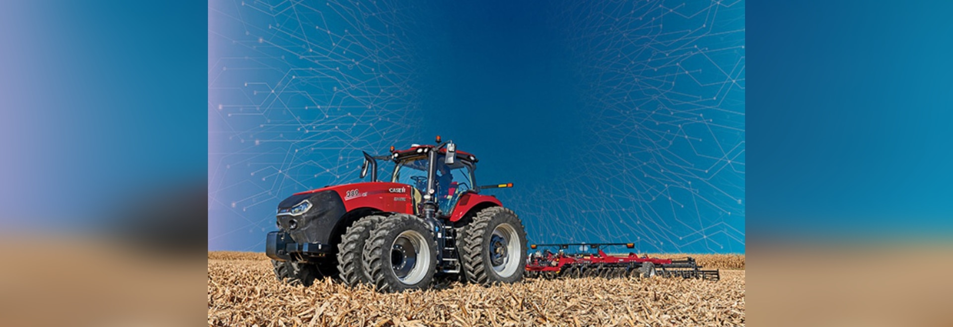 The 2020 Case IH AFS Connect Magnum is designed to be the central controller of field operations. (Photo courtesy of Case IH)