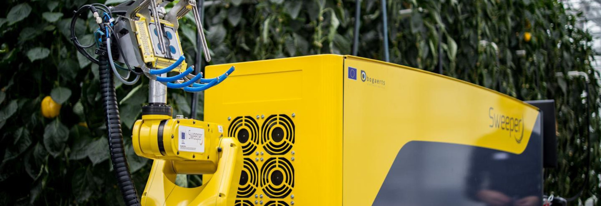 Harvesting robot picks a peck of peppers and more