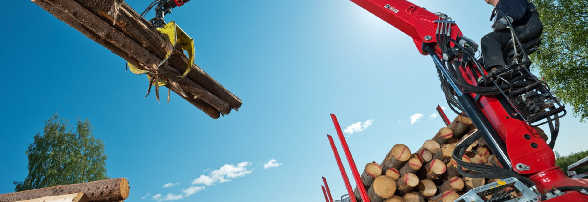 Hiab receives an order for forestry cranes from Russia