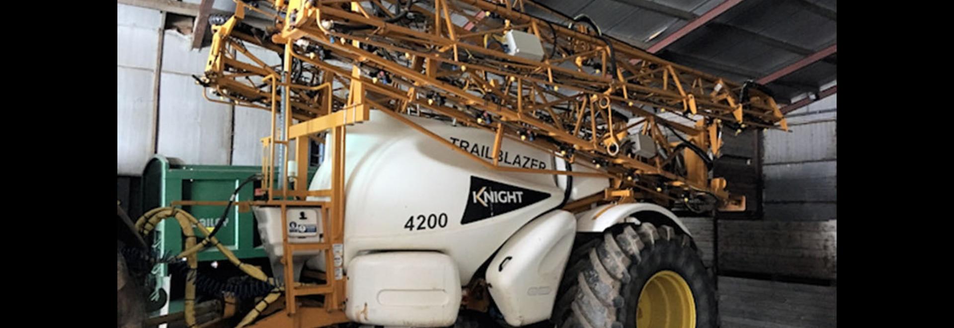 Knight blazes a new trail