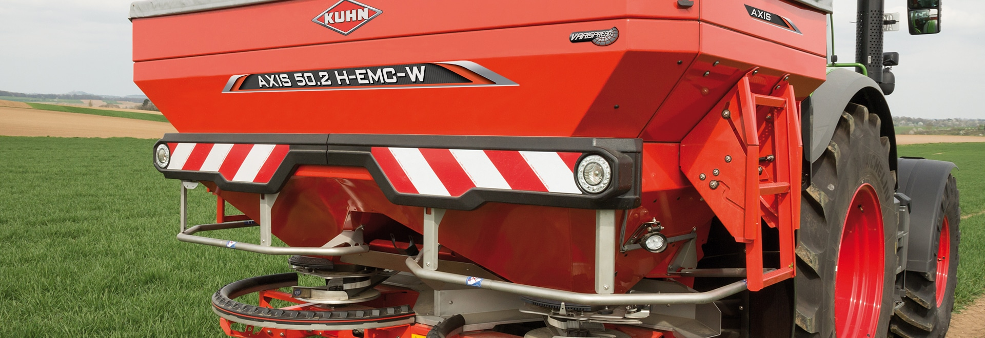 Kuhn launches radar-based automatic spreader control
