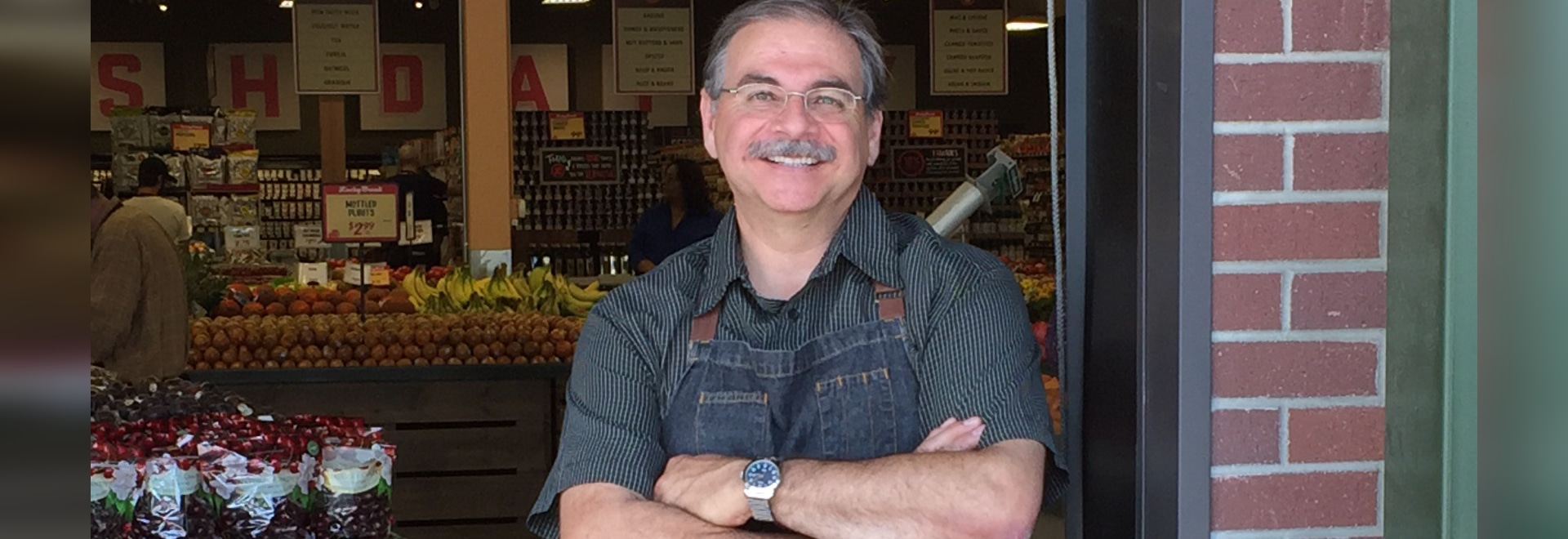 The Produce Aisle with Armand Lobato ( Photo by The Packer staff )