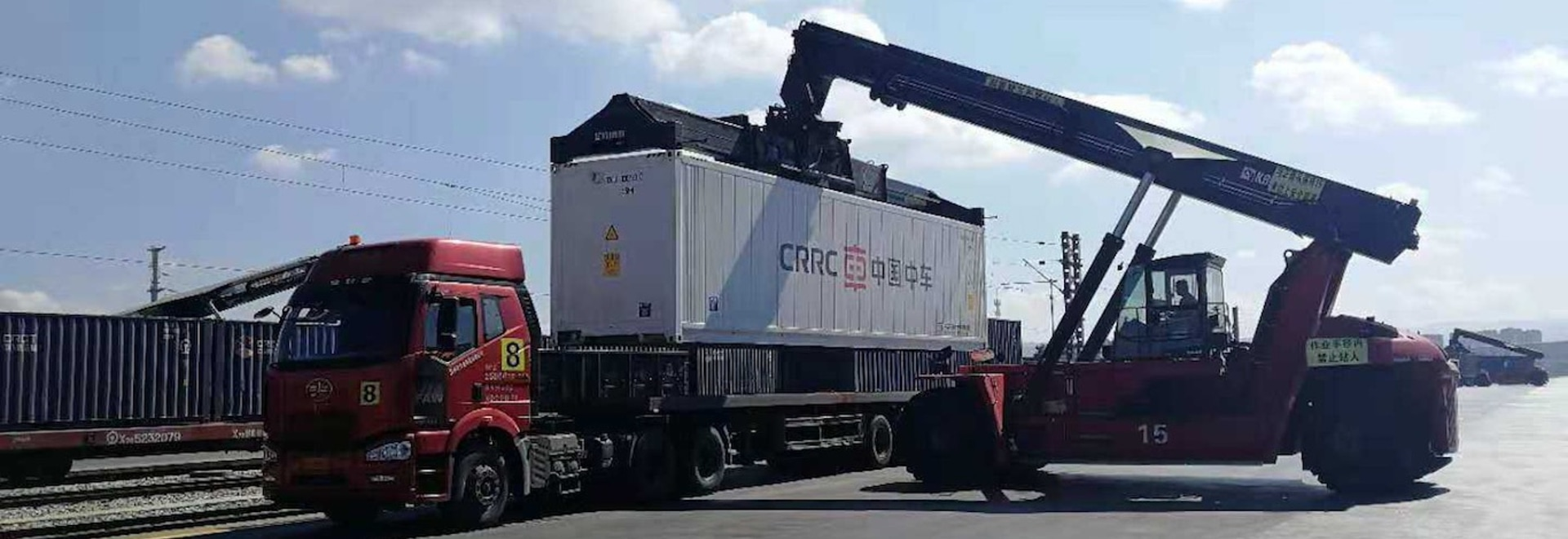 Scientists develop world-first cold storage road/rail container