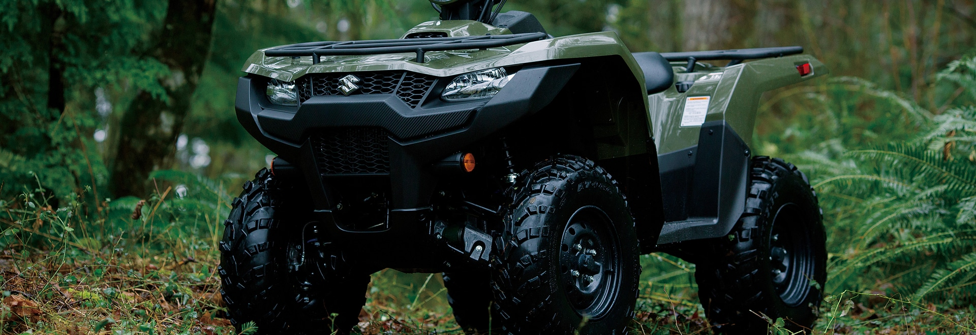 Suzuki recently launched four new KingQuad ATVs.