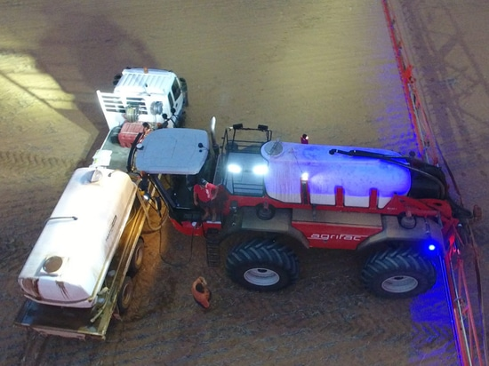 Agrifac Condor Endurance smashes world record spraying in Australia two times
