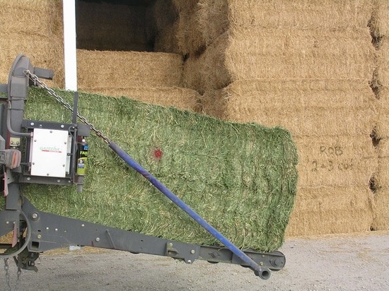 Measure bale moisture in real time