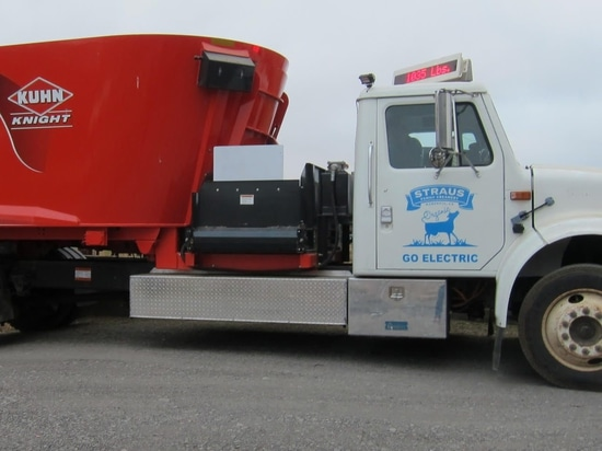 California Farmer Develops First Electric Feed Truck