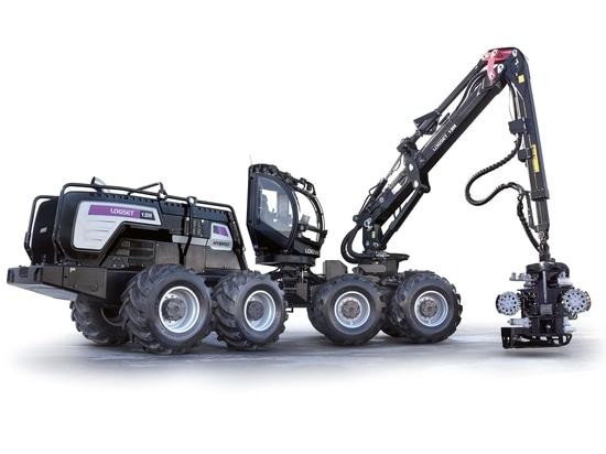 Logset 12H GTE hybrid-electric harvester