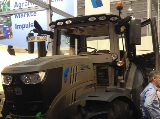 REBO Landmaschinen GmbH unveils worlds first armored tractor