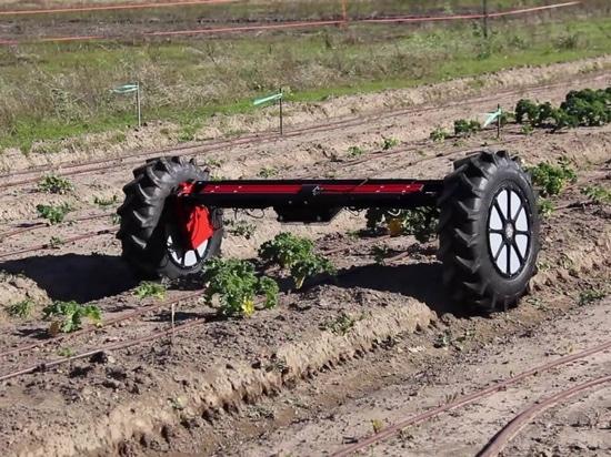 Di-Wheel Agricultural Robot