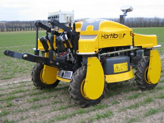 Robot farm workers take to the field