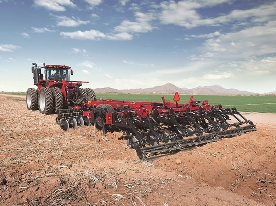 Case-IH introduces AFS Soil Command for cultivator