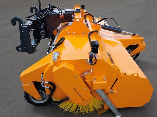 Clean up around the farm with a superior range of powered sweepers and collectors from Spaldings