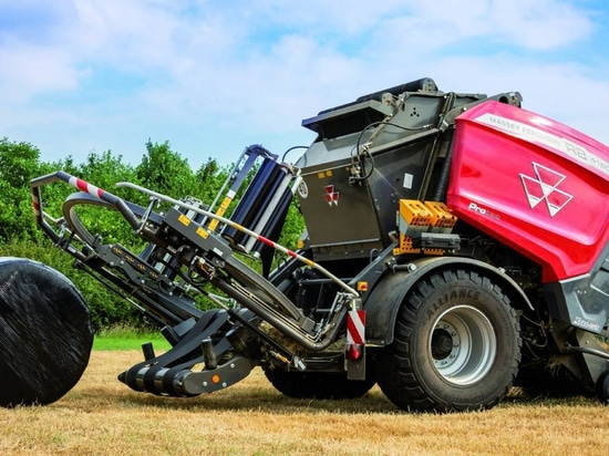 ITS A WRAP: The Massey Ferguson RB 4160V Protec balers combine the benefits of the MF balers with the addition of an integrated, specially-designed wrapper.