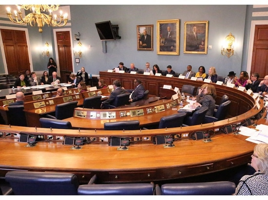 Members of the House Agriculture Committee select their subcommittees during the committee's organizational meeting in Washington Jan. 24. (Photo Credit House Agriculture Committee)