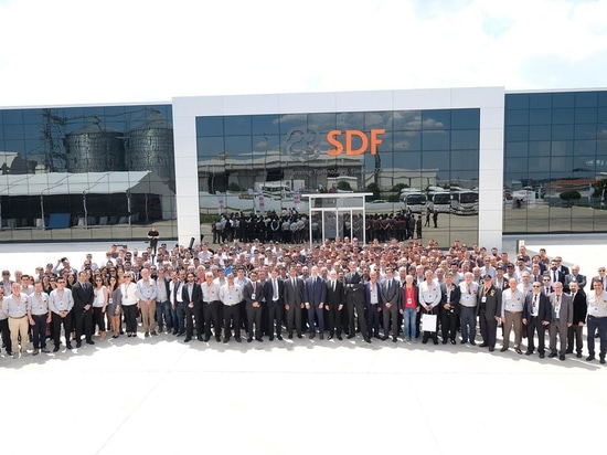 Same Deutz Fahr inaugurates new production lines in Turkey