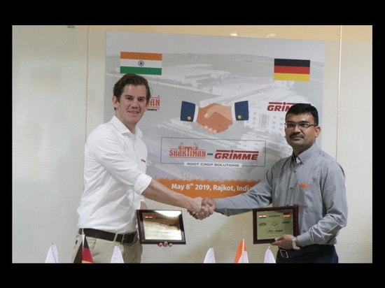 Grimme announce joint venture in India
