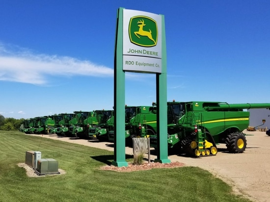45 huge dealers each have an average of 23 agri depots – in North America