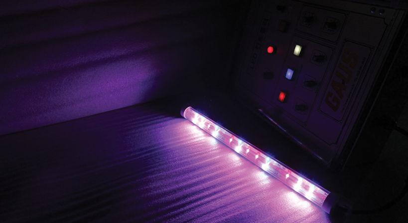 Illuminazione per l orticoltura led blu rossa lightsun