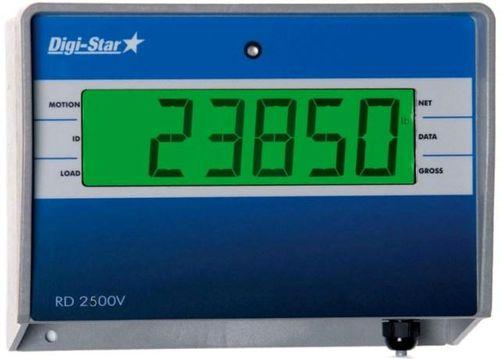 indicatore di peso / con display / digitale / a distanza