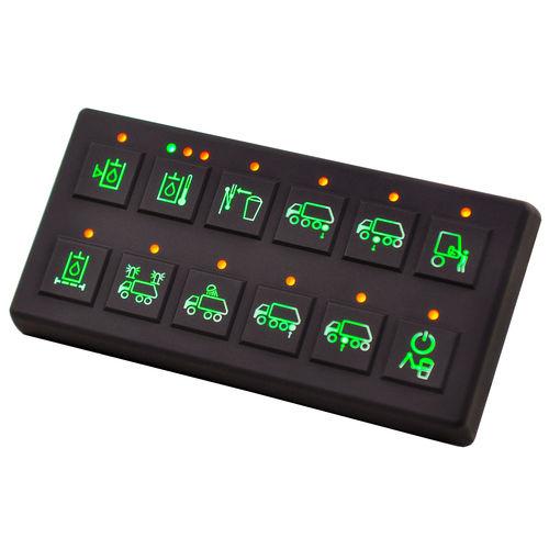 controllore di fattore di produzione agricola / con tastiera / di bordo / CAN-Bus