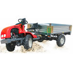 transporter fouristrada diesel / con benna ribaltabile / 4x4