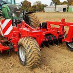 coltivatore su trattore / fisso / per dissodamento del suolo / con erpice a dischi