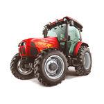 trattore con trasmissione meccanica sincronizzata / con cabina