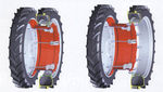 cerchione per trattore / per gemellaggio / smontabile