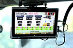 controllore di fattore di produzione agricola / con display / di bordo / per nebulizzazione