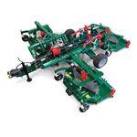 trinciatrice rotante per spazi verdi / su presa di forza / con condizionatore a rulli