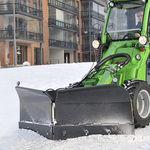 V字形除雪プラウブレード / 油圧調整付