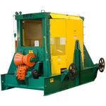 遊動リング付き皮剥ぎ機 / 固定式 / 林業用