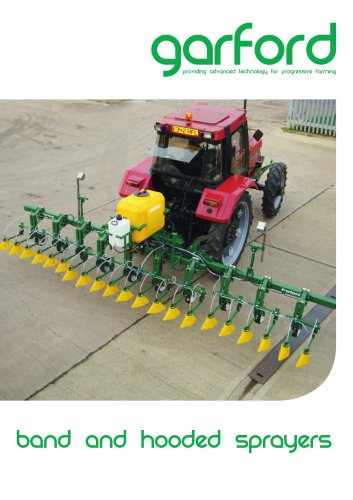 band & hooded sprayers