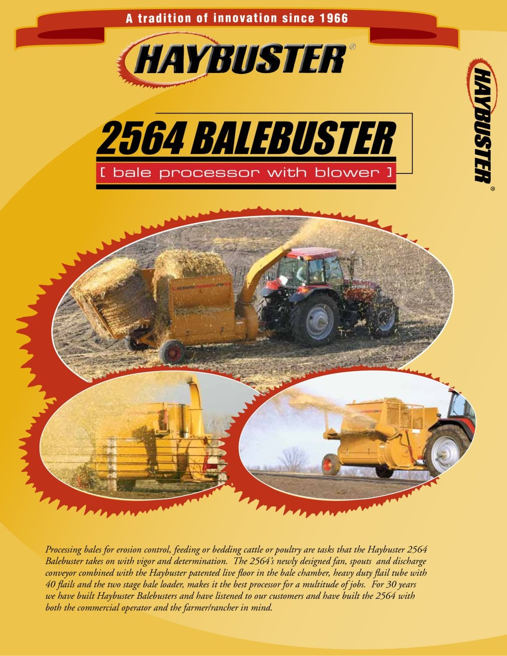 2564 BALEBUSTER - Haybuster Agricultural Products - PDF