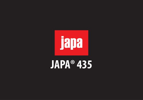JAPA® 435