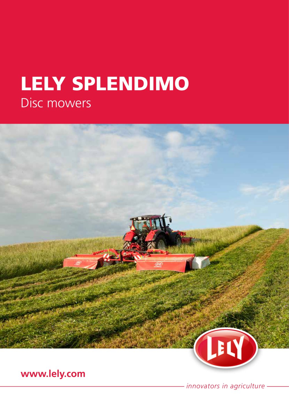 LELY SPLENDIMO Disc mowers - 1 / 50 Pages