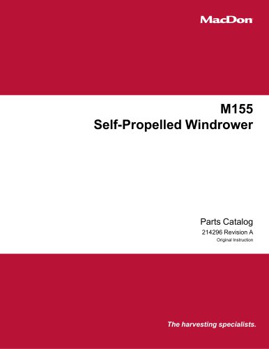 M155 Self-Propelled Windrower