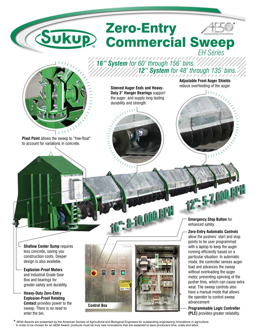commercial sweep sukup mfg co pdf catalogue technical rh pdf agriexpo online